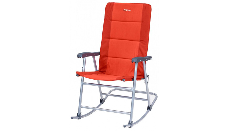 Vango Hampton - Siège camping - orange/rouge
